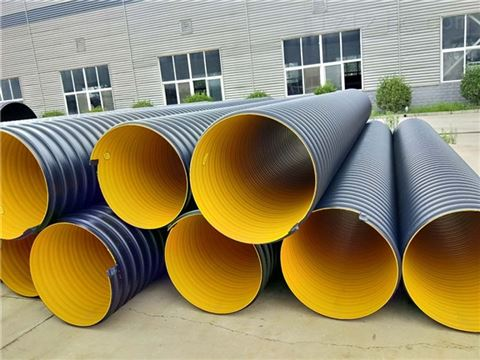 钢带波纹管安装施工|排污管排水管厂家
