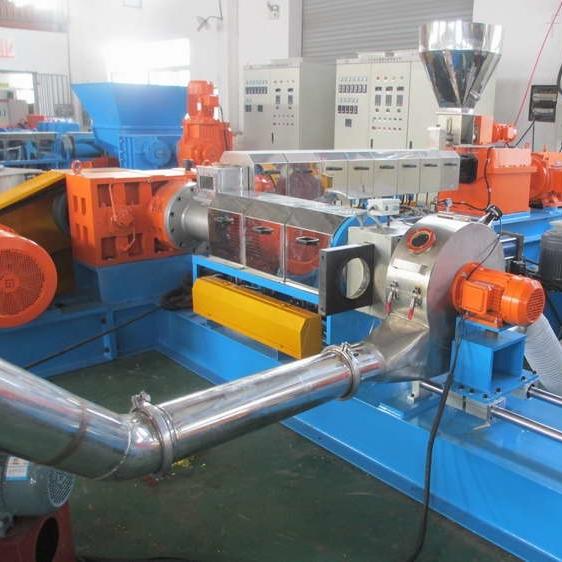 低烟无卤电缆料造粒机 低烟造粒生产线配方